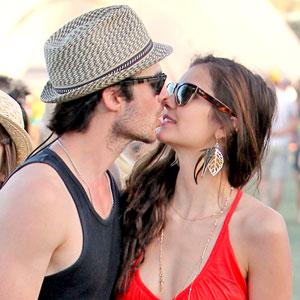 Coachella Festival, Ian Somerhalder, Nina Dobrev