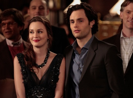 Leighton Meester, Penn Badgley, Gossip Girl