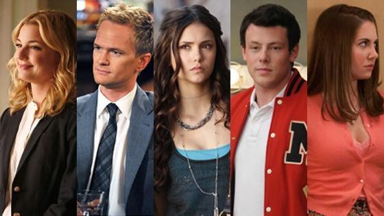 Emily VanCamp, Revenge, Neil Patrick Harris, How I Met Your Mother, Nina Dobrev, Vampire Diaries, Cory Monteith, Glee, Alison Brie,Comm