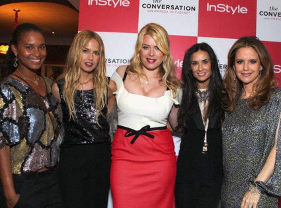 Joy Bryant, Rachel Zoe, Amanda de Cadenet, Demi Moore, Kelly Preston