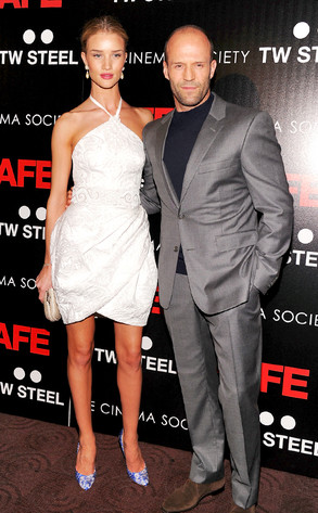 Rosie Huntington Whiteley, Jason Statham
