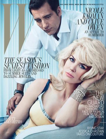 Nicole Kidman, Owen Wilson, W Magazine