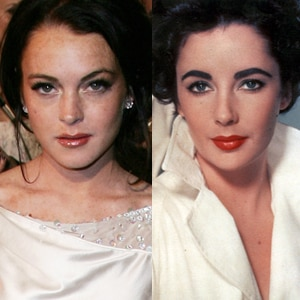 Lindsay Lohan, Elizabeth Taylor