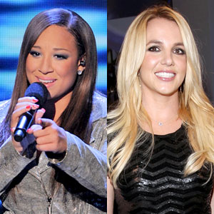 Melanie Amaro, Britney Spears