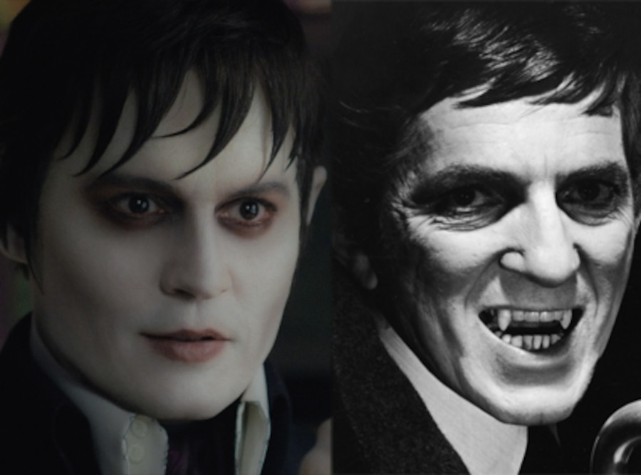 Jonathan Frid, Dark Shadows, Johnny Depp