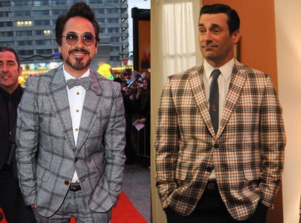 Robert Downey Jr., Don Draper, Mad Men