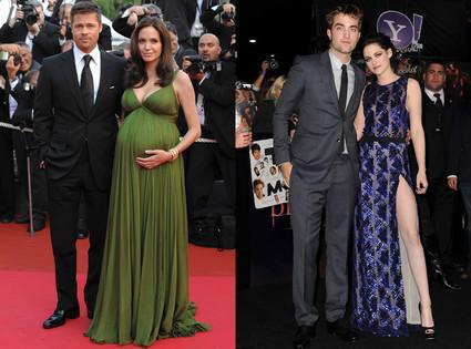 Robert Pattinson, Kristen Stewart, Brad Pitt, Angelina Jolie