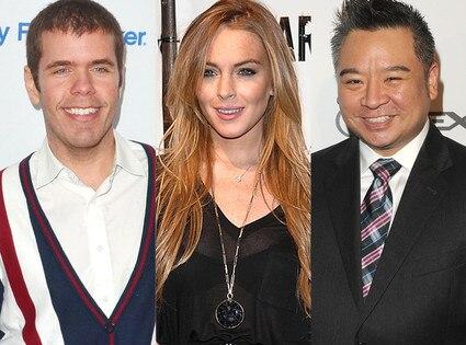 Perez Hilton, Lindsay Lohan, Rex Lee