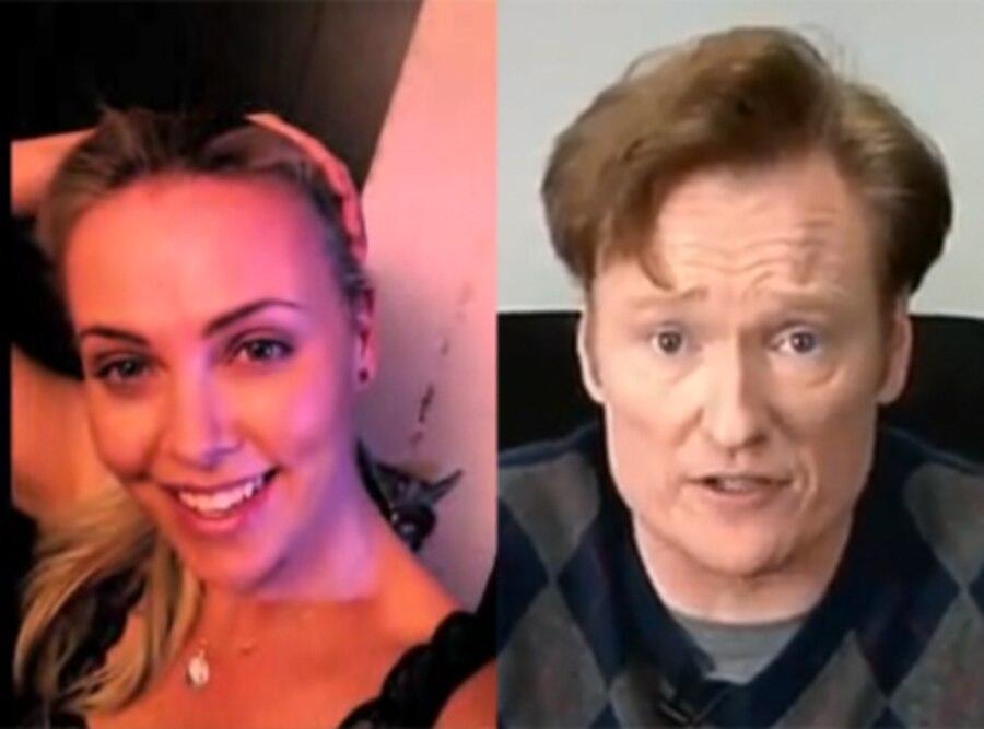 Charlize Theron, Conan O'Brien