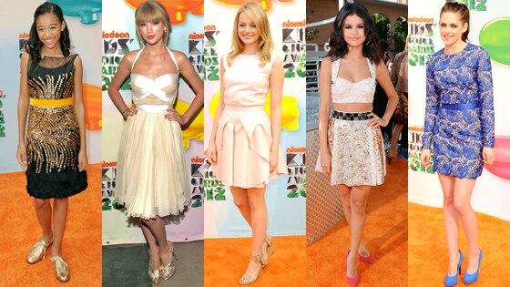 Amandla Stenberg, Taylor Swift, Emma Stone, Selena Gomez, Kristen Stewart