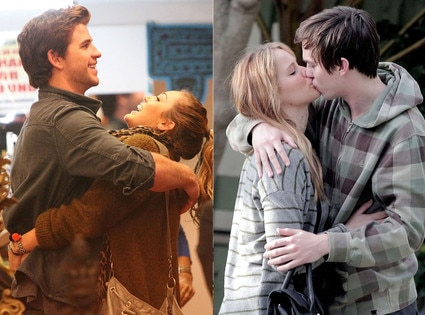 Miley Cyrus, Liam Hemsworth, Jennifer Lawrence, Nicholas Hoult