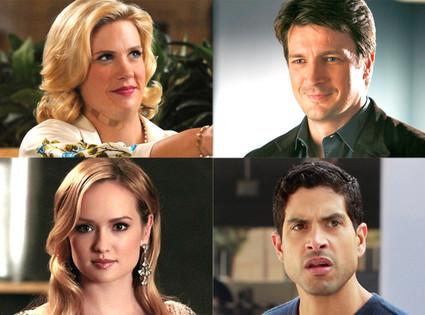 January Jones, Mad Men, Nathan Fillion, Castle, Kaylee DeFer, Gossip Girl, Adam Rodríguez, CSI: Miami