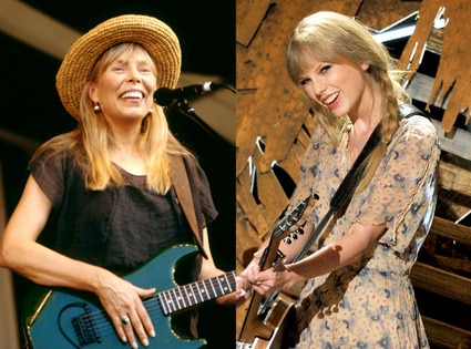 Taylor Swift & Joni Mitchell
