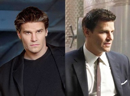 Then and Now, David Boreanaz, Angel, Bones
