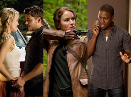 Think Like A Man, The Hunger Games, The Lucky One