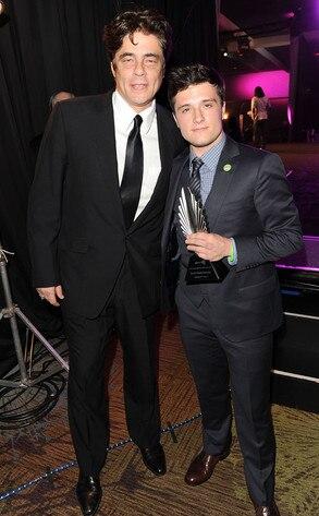 GLAAD Awards, Benicio Del Toro, Josh Hutcherson