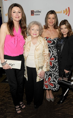 GLAAD Awards, Hot in Cleveland Cast, Betty White