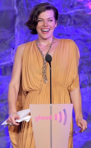 GLAAD Awards, Milla Jovovich