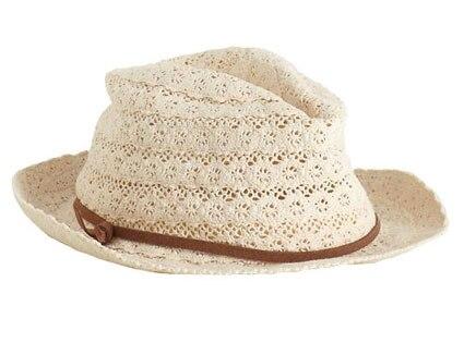 Crochet Summer Style, Jessica Simpson hat