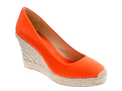 Sunrise Summer Style, JCrew wedge