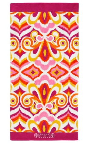 Sunrise Summer Style, PBTeen towel
