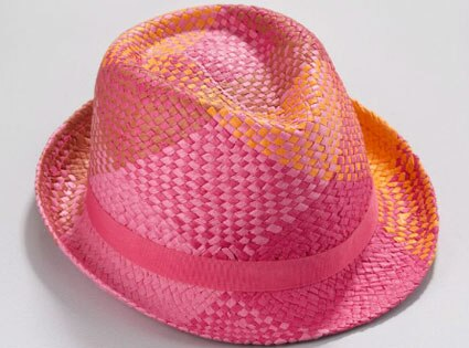 Sunrise Summer Style, New York & Company hat