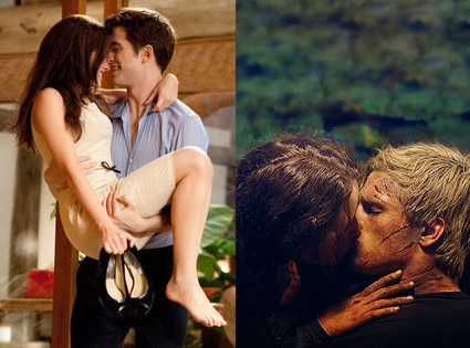 Kristen Stewart, Robert Pattinson, Breaking Dawn, Jennifer Lawrence, Josh Hutcherson, Hunger Games