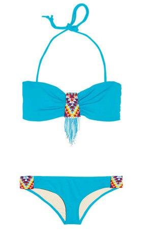 Tribal Summer Style, Mara Hoffman bikini