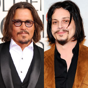 Johnny Depp, Jack White