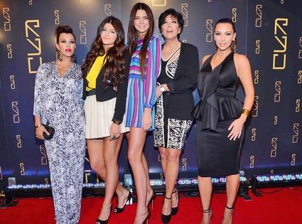 Kourtney Kardashian, Kylie Jenner,Kendall Jenner,Kris Jenner, Kim Kardashian