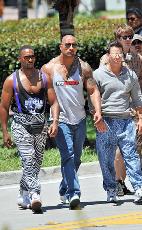 Anthony Mackie, Dwayne Johnson, Mark Wahlberg