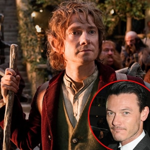 Martin Freeman, The Hobbit; Luke Evans