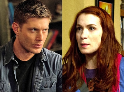 Jensen Ackles, Felicia Day, Supernatural