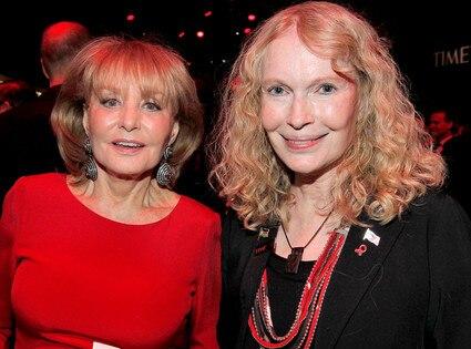 Barbara Walters, Mia Farrow