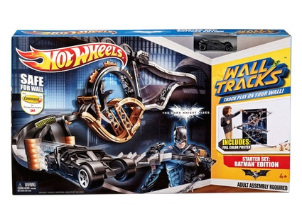Hot Wheels TDKR Wall Track