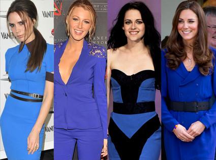 Victoria Beckham, Blake Lively, Kristen Stewart, Kate Middleton