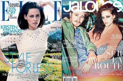 Kristen Stewart, Elle UK, Jalouse