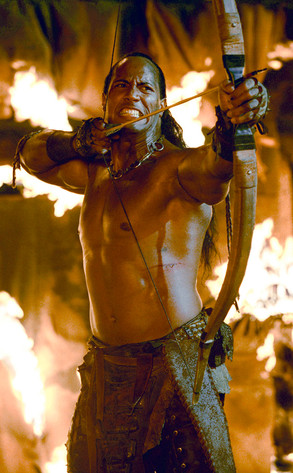 The Rock The Scorpion King From Bull S Eye Hollywood S