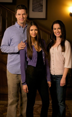 Nina Dobrev, Jason McDonald, Erin Beute, The Vampire Diaries