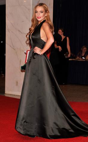 WHCD, Lindsay Lohan