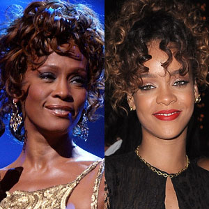 Whitney Houston, Rihanna