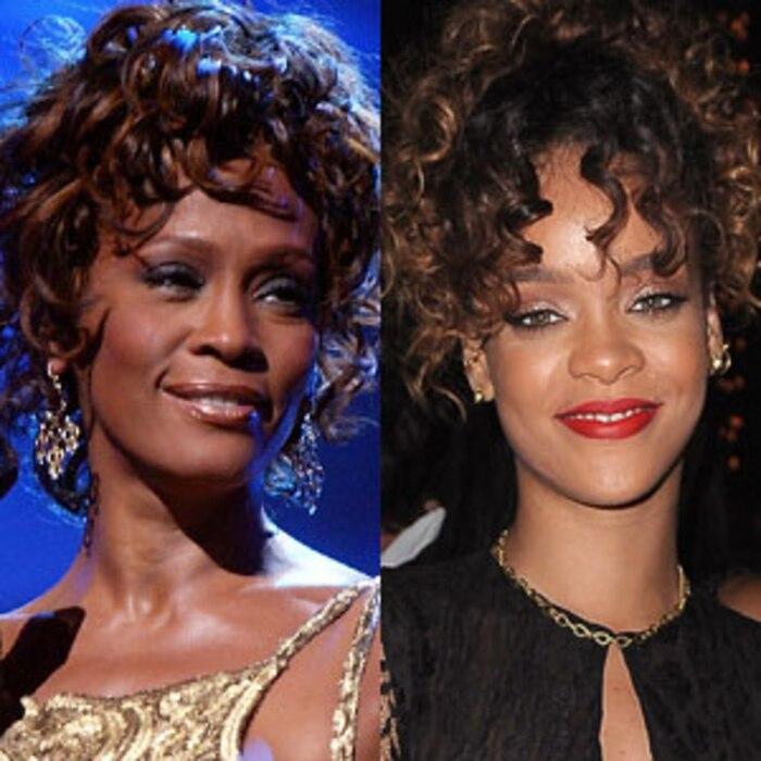Whitney Houston, Rihanna