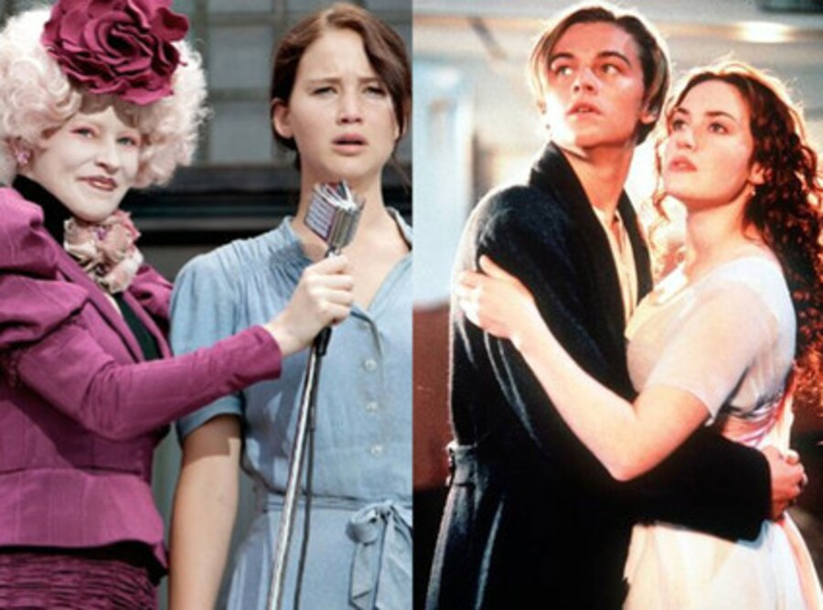 Titanic, The Hunger Games