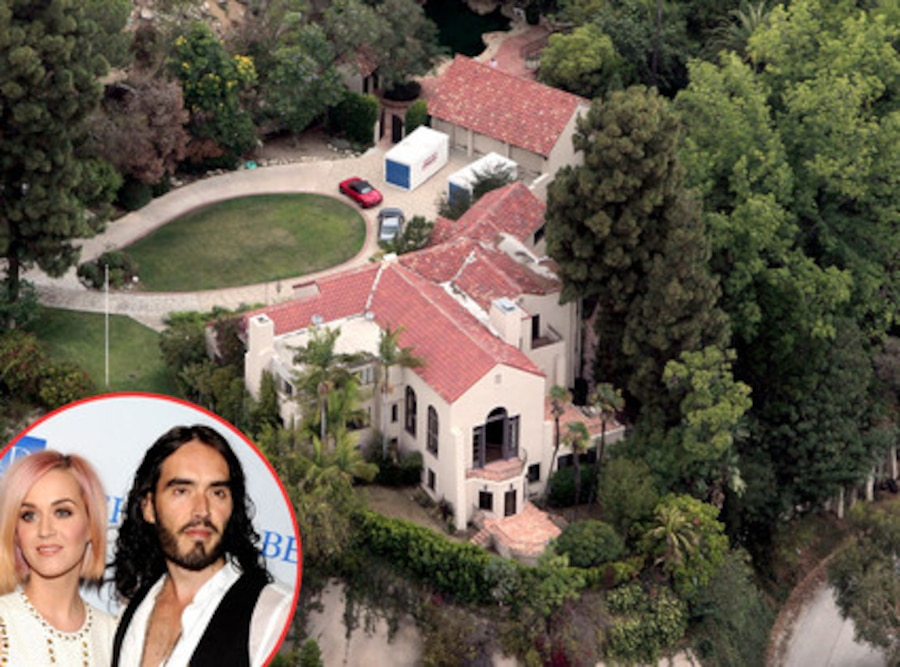 Russell Brand, Katy Perry, Home