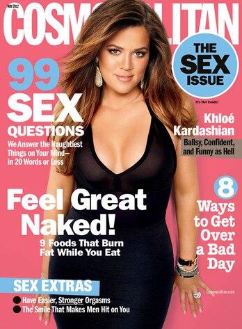 Khloe Kardashian, Cosmopolitan Magazine