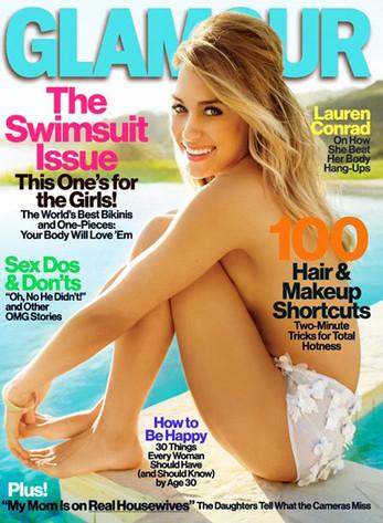 Lauren Conrad, Glamour Magazine