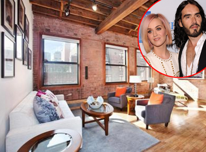 Katy Perry, Russell Brand, Apartment