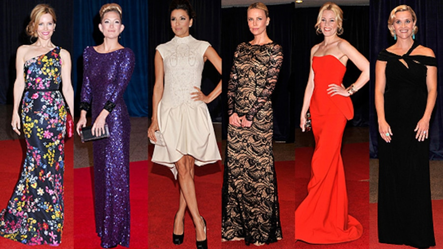 Leslie Mann, Kate Hudson, Eva Longoria, Charlize Theron, Elizabeth Banks, Reese Witherspoon