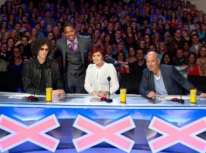 AMERICA'S GOT TALENT,  Howard Stern, Nick Cannon, Sharon Osbourne, Howie Mandel