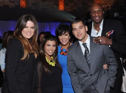 Khloe Kardashian Odom, Kourtney Kardashian, Kris Jenner, Rob Kardashian, Lamar Odom